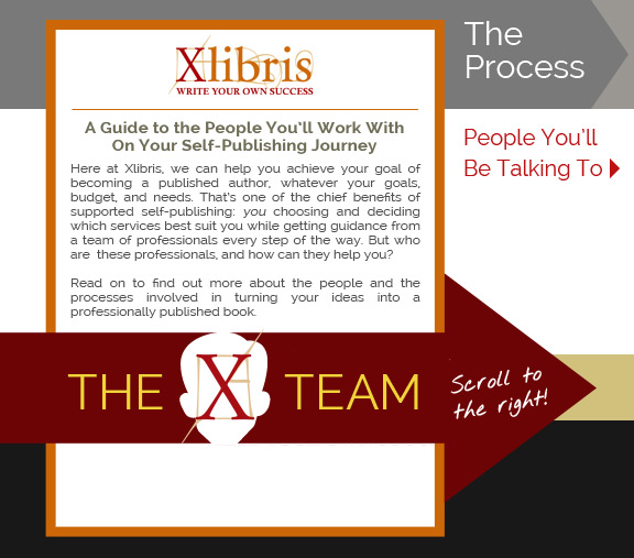 A Guide to the People You'll Work With On Your Self-Publishing Journey | Here at Xlibris, we can help you achieve your goal of becoming a published author, whatever your goals, budget, and needs. That's one of the chief benefits of supported self-publishing: you choosing and deciding which services best suit you while getting guidance from a team of professionals every step of the way. But who are these professionals, and how can they help you? | Read on to find out more about the people and the processes involved in turning your ideas into a professionally published book.